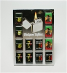 Zippo cigarette lighter, mix design of Bob Marley. unit price $5.50/ea