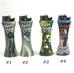 Cheech ChongRefilable Curve Bottle Opener Lighter,select your designs,