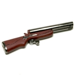Double Barrel Gun refillable Lighter about 4""