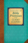 Pocketful of Bible Promises for Godly Leaders: 081983630378