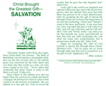 Christ Brought the Greatest Gift- Salvation