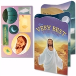 The Very Best Morning Accordion-Fold Booklet w/Stickers: 615122151686