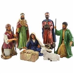 Nativity-7 Piece Set: 796038226962