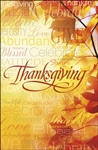 Bulletin-Words Of Thanksgiving : 815256024218
