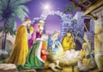 Advent Calendar with Pictures & Nativity Story: 871241008632