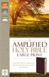 Amplified Holy Bible/Large Print (Revised): 9780310444053
