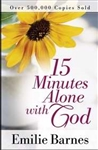 15 Minutes Alone With God by Barnes: 9780736950855