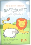 KJV Baby's New Testament w/Psalms, Bonded leather, White, 9781558190443