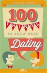 100 Things To Know When Dating Pamphlet by Rose: 9781890947408