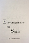 Encouragements for Saints