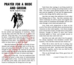 Prayer For A Bride And Groom