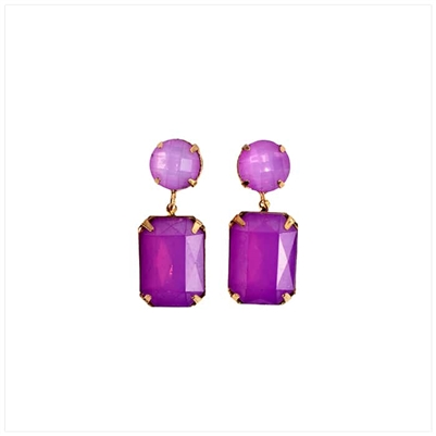 Amethyst Drop Earrings