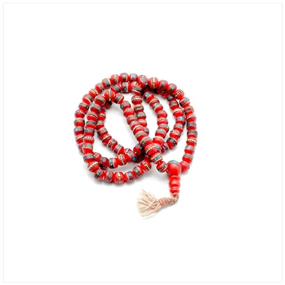 Red Tassle Necklace