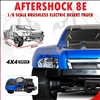 Redcat Racing Aftershock 8E 1/8 Scale Brushless Electric Desert Truck