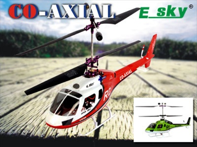 2.4 GHz Helicopter CO-AXIAL Upgrades RTF Gift Box 002768 Cnc Helicopters on