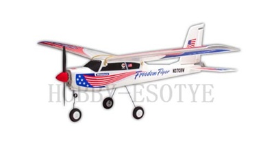 Megatech 3CH Radio Control electric Airplane Freedom Flyer RTF