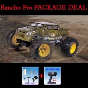1:8 Rtr 4wd .27 Japan Team Infinity Engine Nitro Powered Off Road Monster Truck