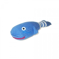 Organic Baby Toy - Whale Rattle