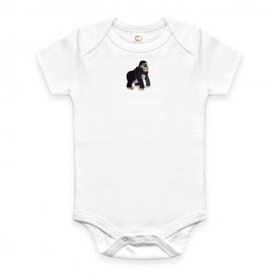 Save the Gorilla - Organic Baby Onesie