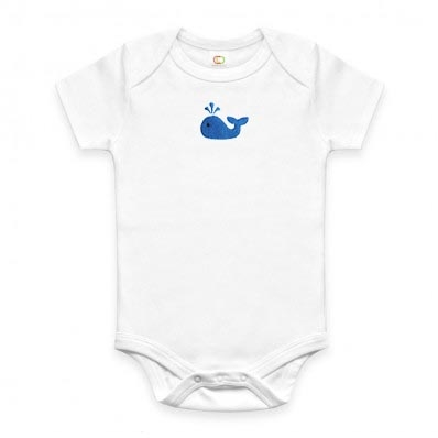 Eco-Friendly Gifts - Whale Shirt for Baby