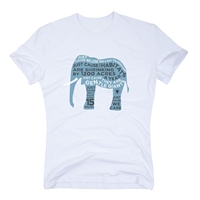 Save The Elephants Tee - Organic Cotton