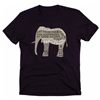 Just Cause Clothes - Organic Elephant Tee For Women