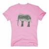 Best Organic T-Shirt - Just Cause We Care - Elephant