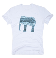 Organic Elephant Tee For Men - Just Cause Clothes