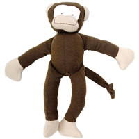 Organic Stuffed Monkey Toy
