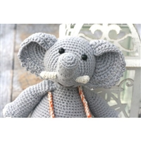 Hand Crocheted Elephant Toy