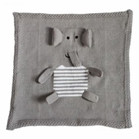 Organic Security Blanket - Elephant