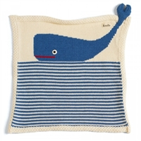 Organic Security Blanket - Whale