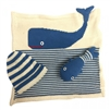 Baby Gift Sets - Organic Hand Knit Whale Set - Estella