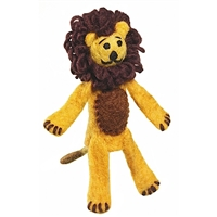 Lion Toy for Kids - Fair Trade Finger Puppet