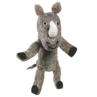 Rhino Toy for Kids Finger Puppet
