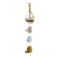 Ocean Themed Nursery - Whale Baby Mobile