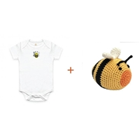 Organic Gift Basket for Baby - Bee