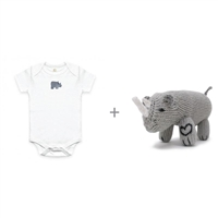Organic Gift Set for Baby - Rhino