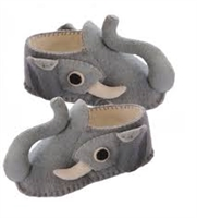 Hand Felted Elephant Slippers