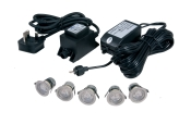 10-Kit LED IP67 Accent Lights (Warm White)