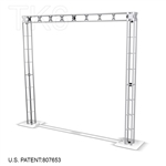 ADIRONDACK - 8FT X 8FT TK6 BOX TRUSS ARCH DISPLAY <BR> [FRAME ONLY]