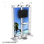 CUBA 3, 10 X 5 TRADE SHOW TRUSS DISPLAY EXHIBIT BOOTH