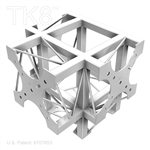 FOUR WAY ALUMINUM BOX TRUSS