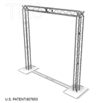Napa - 10 ft by 10 ft Aluminum TK8 Box Truss Arch