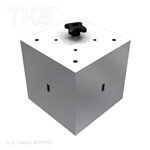 CUBE WEIGHTED BASE FOR 8 IN BOX TRUSS