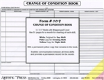 24 Hour Change of Condition Book - 4 part NCR