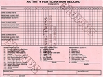 Activity Participation Record