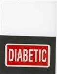 Labels - Diabetic