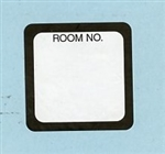 Labels - Room No.