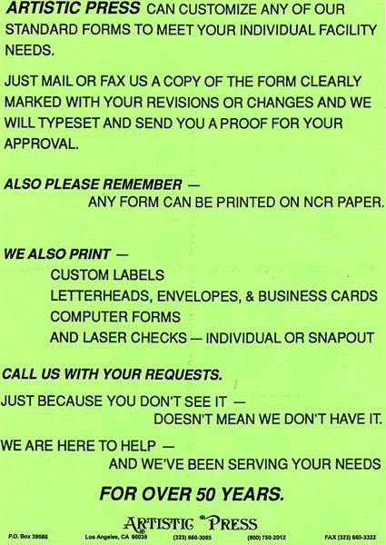 Custom Printing Flyer